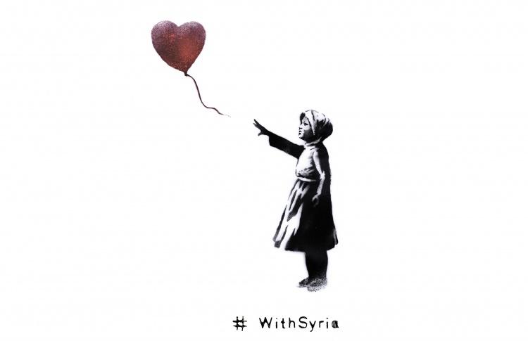 Бэнкси &laquo#WithSyria&raquo