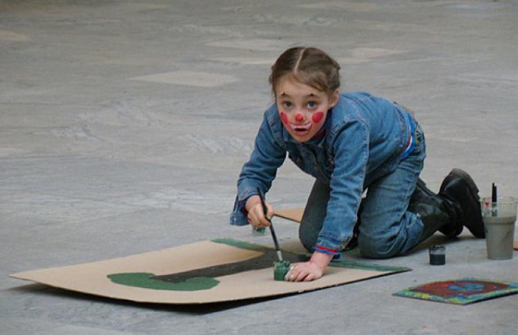 VI интерактивная выставка «Краски детства»