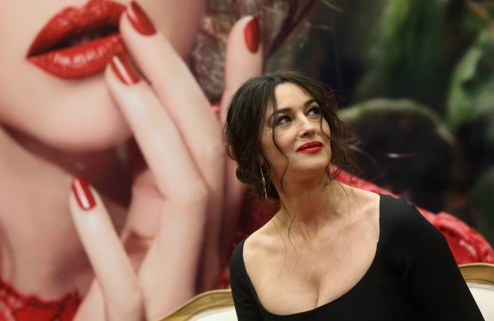 Моника Беллуччи приезжала в Москву на открытие корнера Dolce&Gabbana