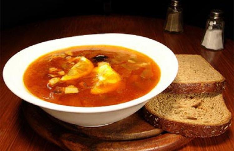 Густые зимние супы