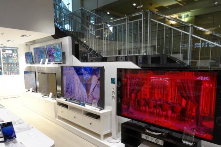 В Москве и Санкт-Петербурге открылись два новых магазина сети Sony Centre