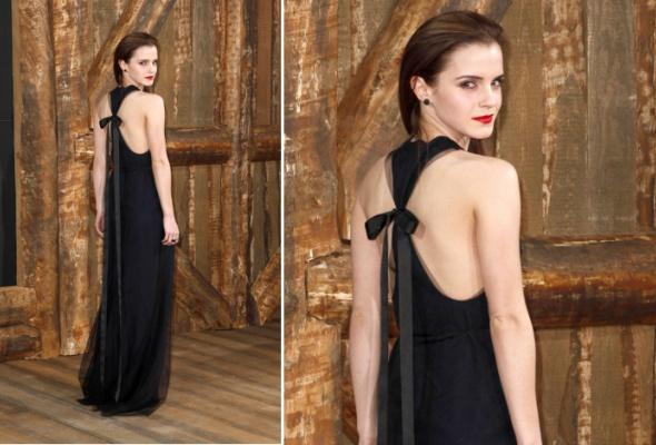 Звездный тренд: черное платье в пол - Фото №2