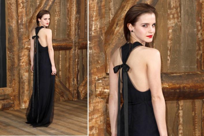 Модный тренд марта: черноеплатьевпол