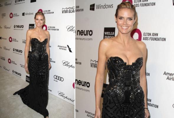 Звездный тренд: черное платье в пол - Фото №9