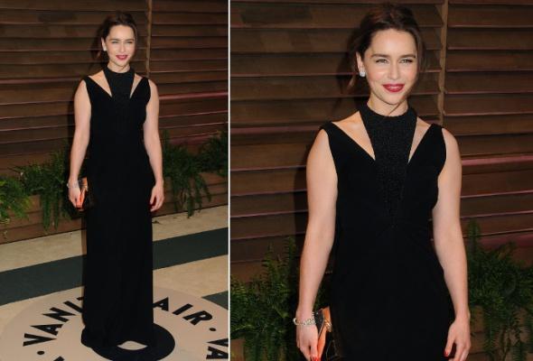 Звездный тренд: черное платье в пол - Фото №6