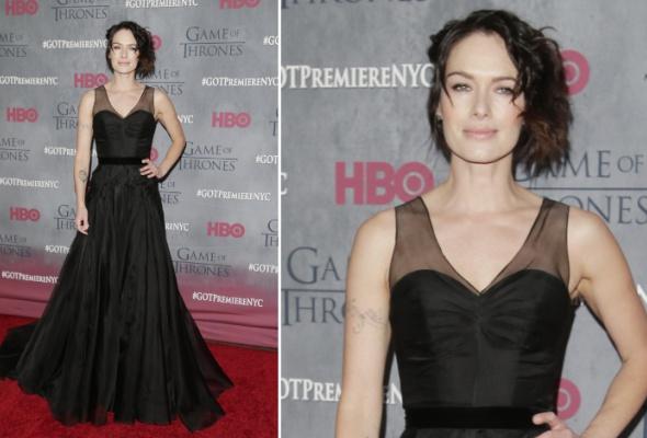 Звездный тренд: черное платье в пол - Фото №0