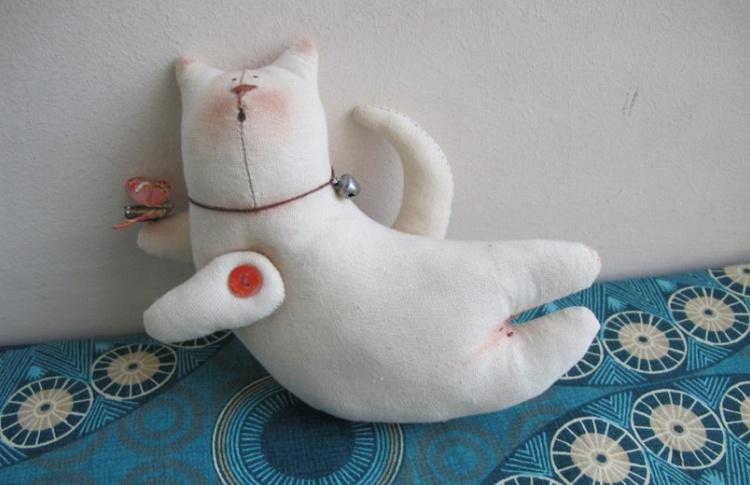 """Игрушка """"Тильда"""": текстильные примитивы"""