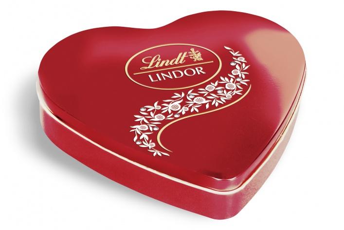 Коллекция сладких подарков Lindt к 8 марта