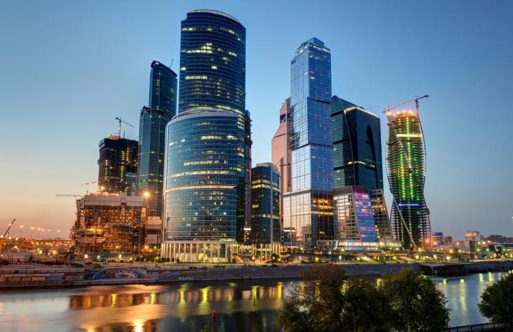 Смотровая площадка в комплексе «Москва-Сити»