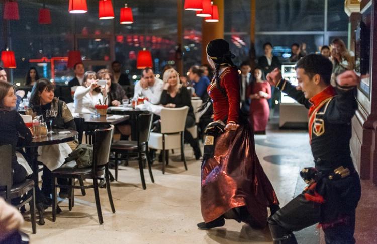 С 27 по 30 марта в панорамном ресторане Rыба  пройдут дни грузинской кухни