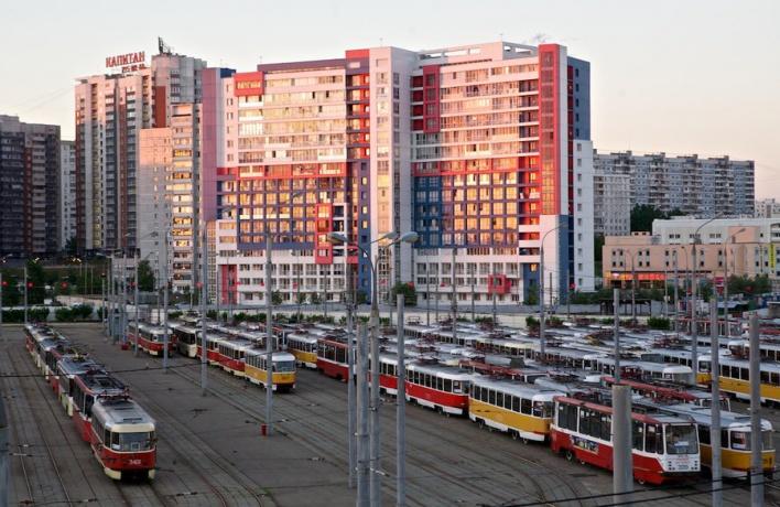 12 апреля на Чистопрудном бульваре пройдёт парад трамваев