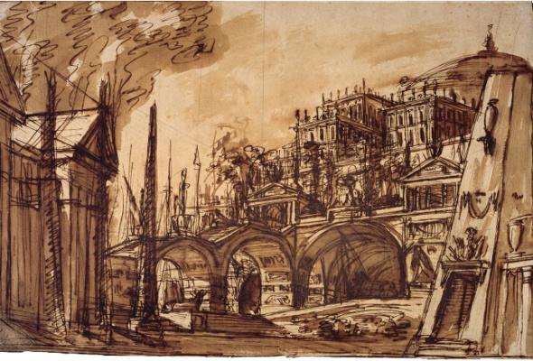 Только Италия! Архитектурная графика XVIII—XXI веков - Фото №1