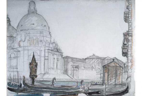 Только Италия! Архитектурная графика XVIII—XXI веков - Фото №2