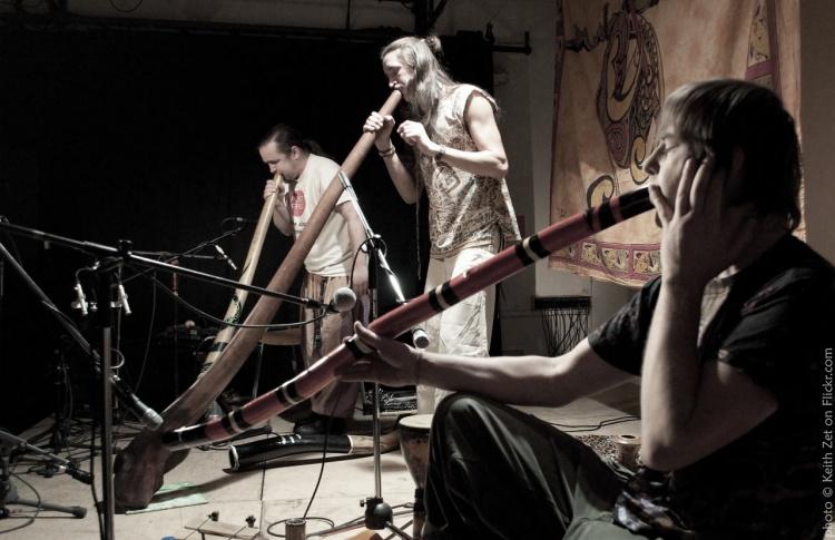 «Живой голос древности»: концерт диджериду