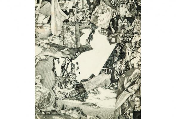 Павел Кондратьев. Живопись, книжная и станковая графика - Фото №3