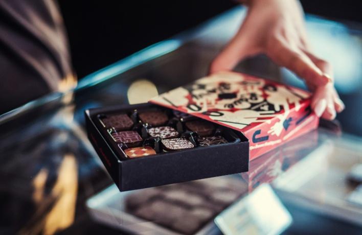 Открылся шоколадный бар израильской сети Max Brenner