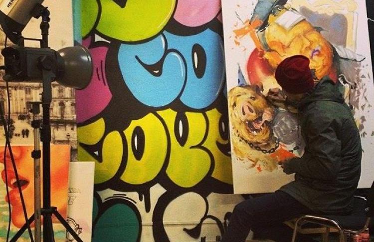 В Москве открылся граффити-шоп Molotow