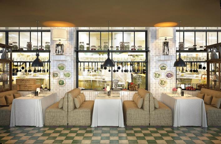 В Красногвардейском районе открылся первый этаж ресторанного комплекса «ЛюбимRest» - ресторан «Любимый»