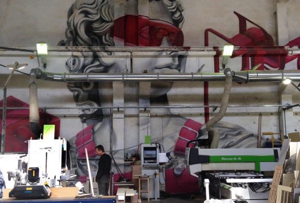 Первая экскурсия в Музее уличного искусства  - Фото №18