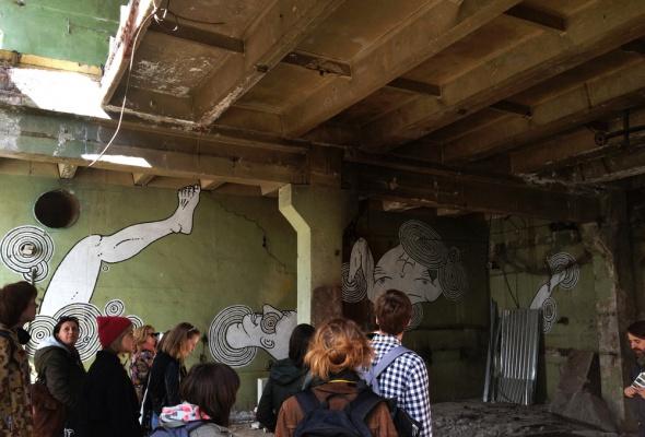 Первая экскурсия в Музее уличного искусства  - Фото №16