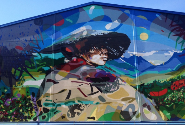 Первая экскурсия в Музее уличного искусства  - Фото №11
