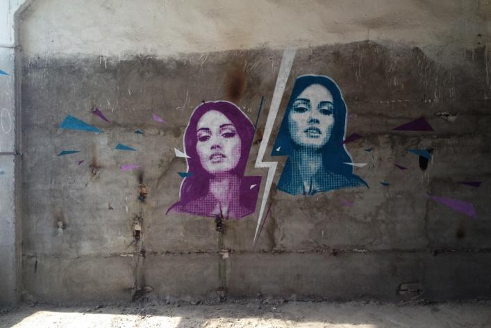В музее уличного искусства прошла первая экскурсия