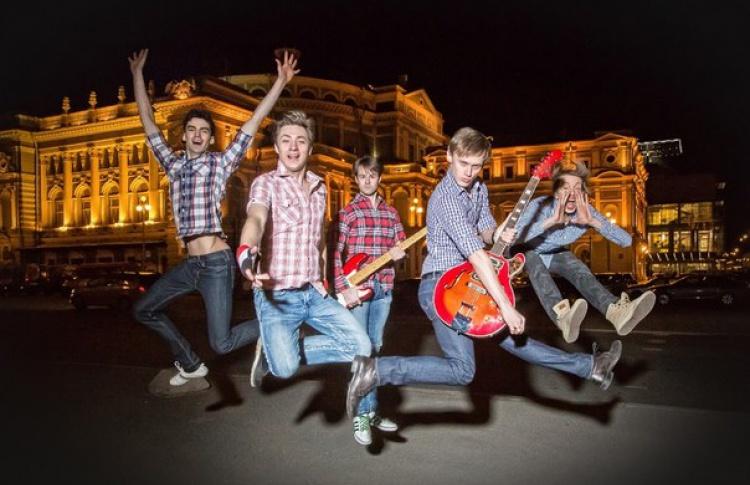 Закрытие Международного дня танца в Санкт-Петербурге