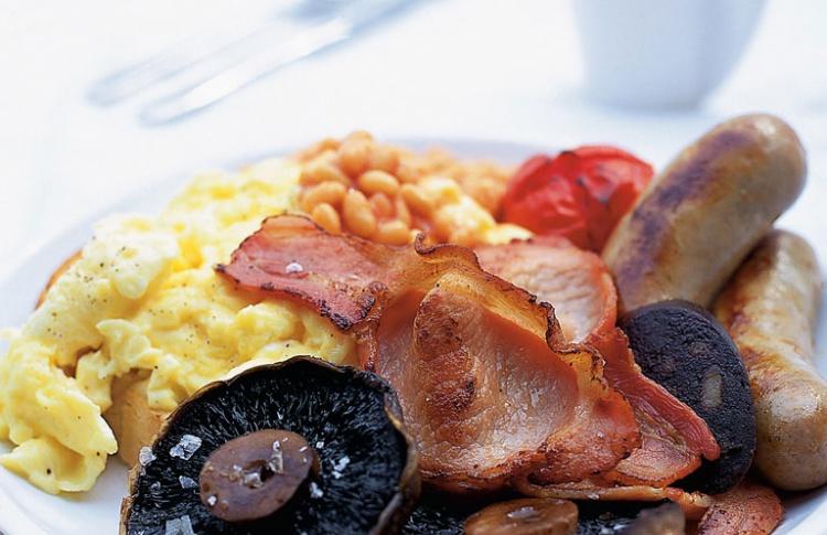 Английский завтрак, или ужин, или обед Фото №434637