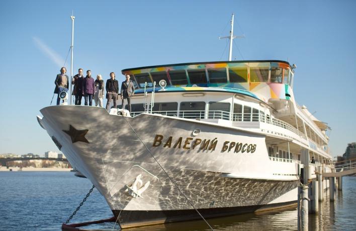 Первый арт-кластер на воде заработает в июне на борту корабля «Валерий Брюсов»