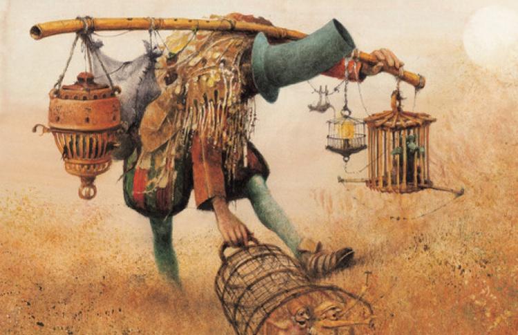 Иллюстрации Роберта Ингпена