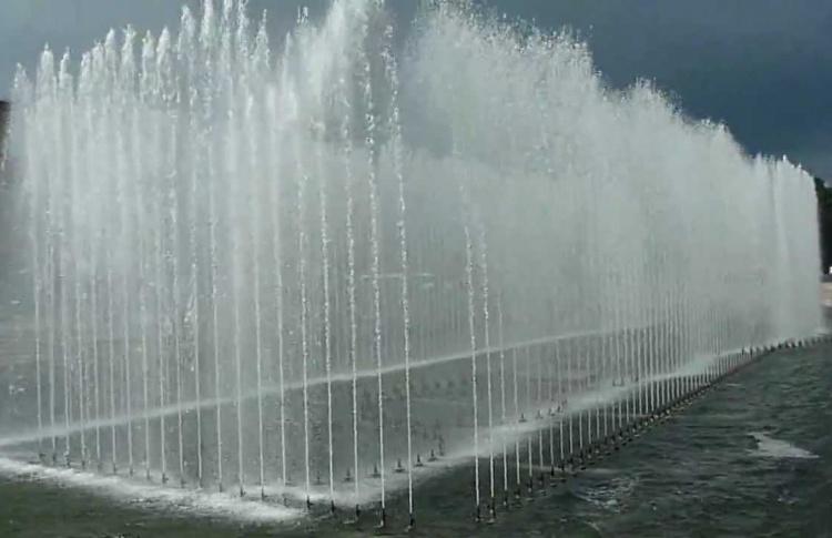 Два петербургских фонтана будут танцевать под музыку