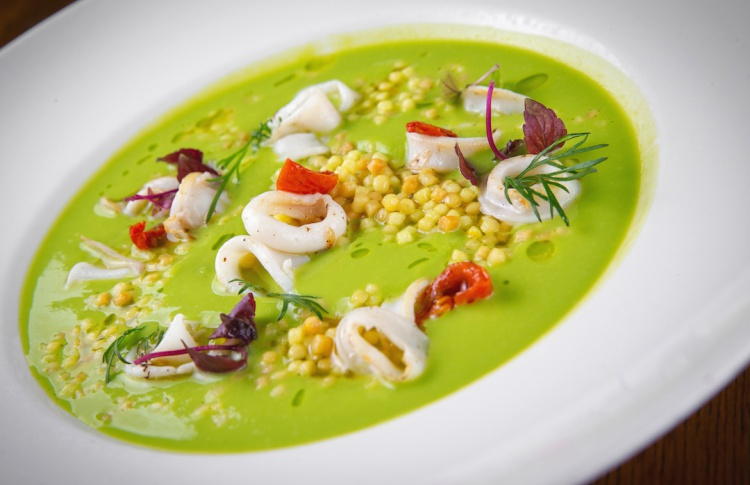 18 разноцветных весенних супов Фото №435511