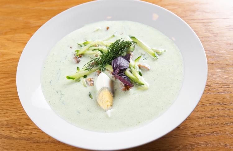 18 разноцветных весенних супов Фото №435557