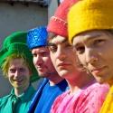Цветной карнавал в