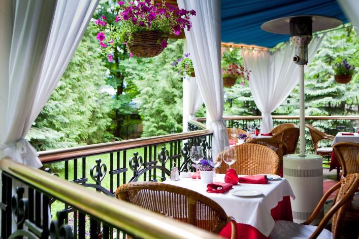 Летние веранды кафе и ресторанов