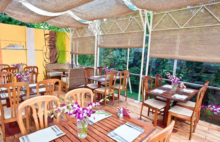 Летние веранды кафе и ресторанов Фото №435770