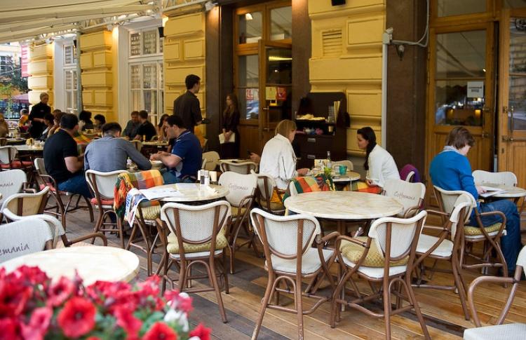 Летние веранды кафе и ресторанов Фото №435794