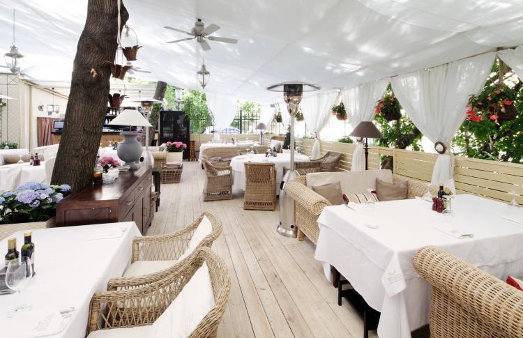 Летние веранды кафе и ресторанов Фото №435828