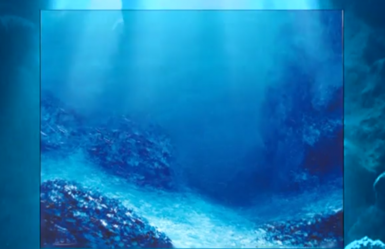 Притяжение синевы