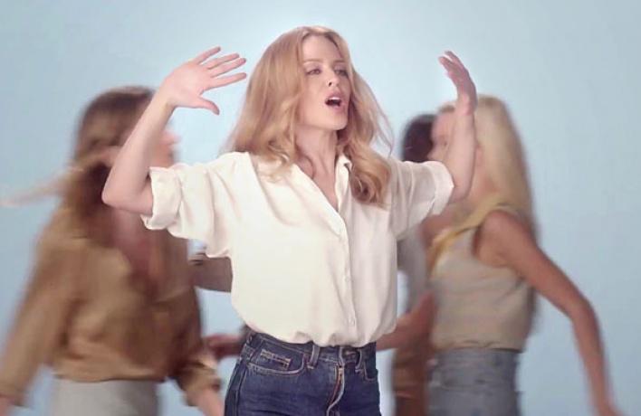 Клип дня: Кайли Миноуг «I Was Gonna Cancel»