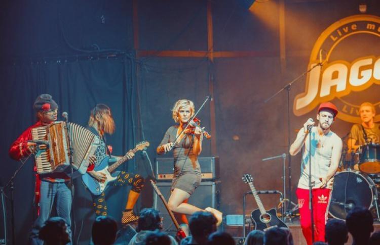 Tatlem и Gypsy-Punk Orchestra The Fish