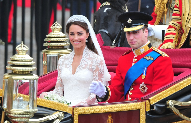Самые красивые свадьбы последних лет Фото №436249