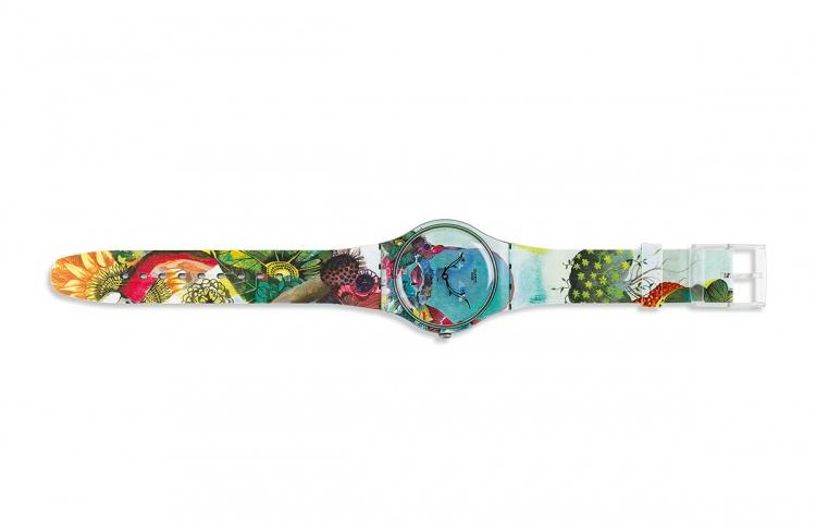 Часы Flowerhead от Swatch