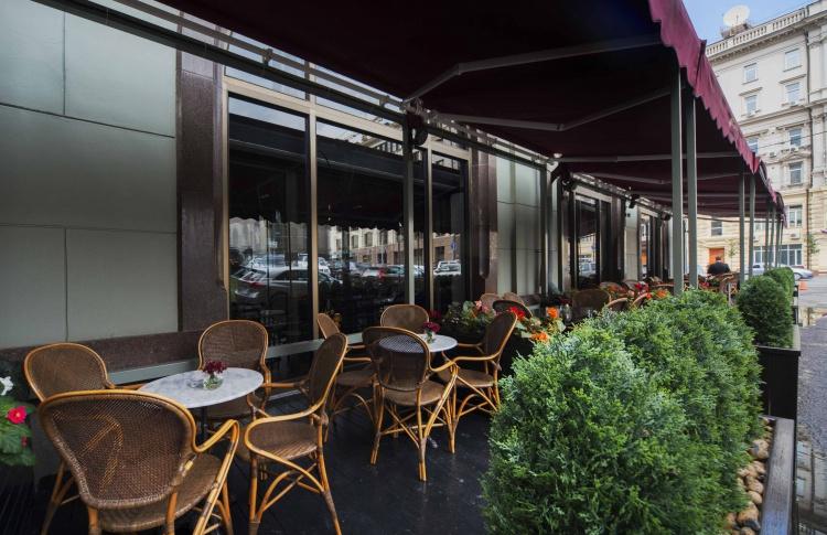 Летние веранды кафе и ресторанов Фото №436818