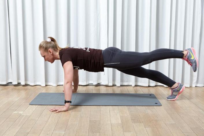 А вы знали, что планка идеальное упражнение для рук?