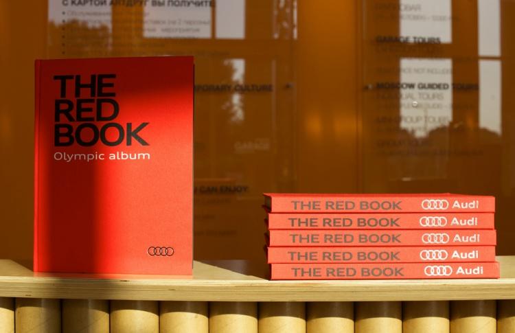 Вышла книга «The Red Book. Olympic Album»