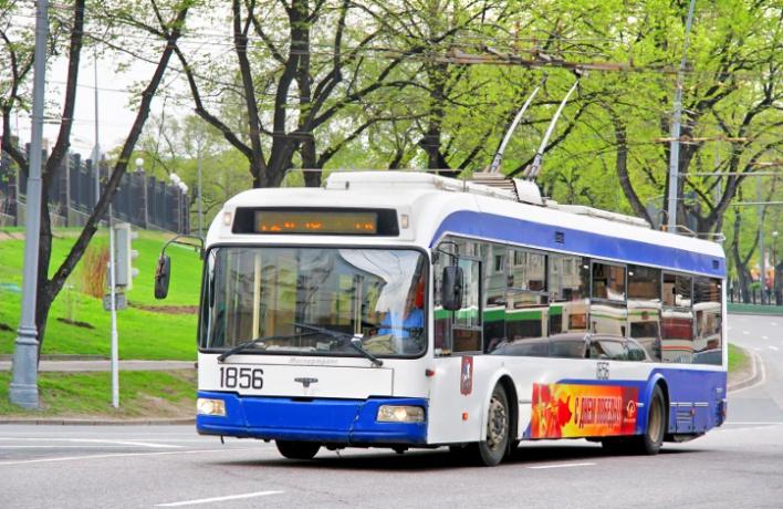 Троллейбус №63 будет ходить круглосуточно
