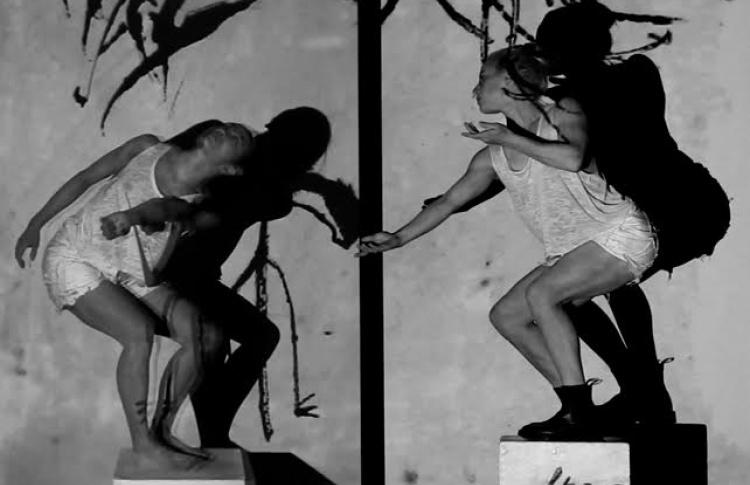 """Открытие 3-D лабиринта и стереоскопический перформанс """"Искусство движения"""" Билли Коуи"""