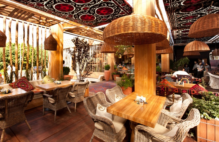 Летние веранды кафе и ресторанов Фото №438882