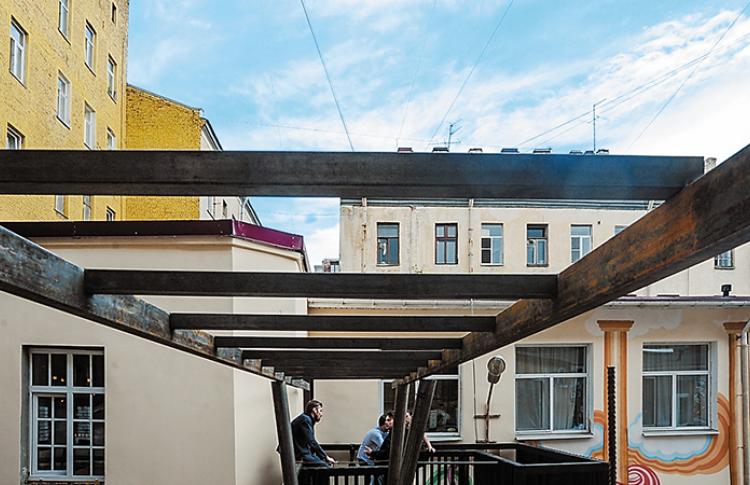 Дышите это немедленно: террасы в центре города Фото №439204